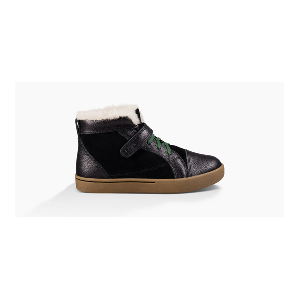KIDS' UGG THERON BLACK ON SALE