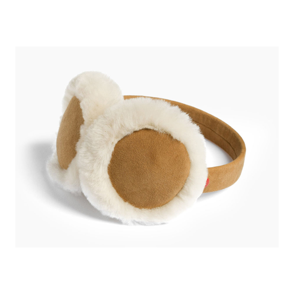 KIDS' UGG CLASSIC SHEEPSKIN EARMUFF CHESTNU ON SALE