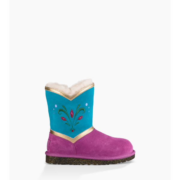 KIDS' UGG ELSA CORONATION ROYAL PURPLE ON SALE