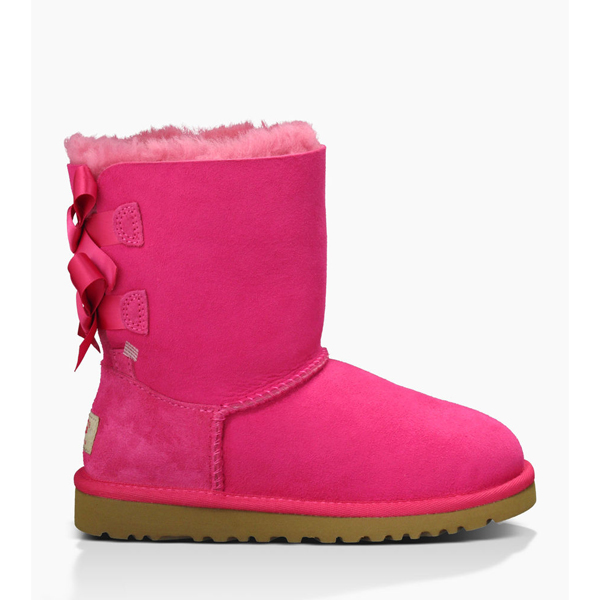 TODDLER'S UGG BAILEY BOW CERISE ON SALE