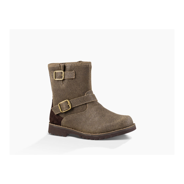 KIDS' UGG HARWELL BOMBER BOMBER TEAK ON SALE