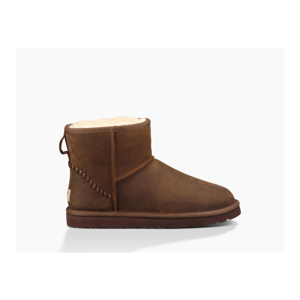 MEN'S UGG CLASSIC MINI DECO CHESTNUT ON SALE