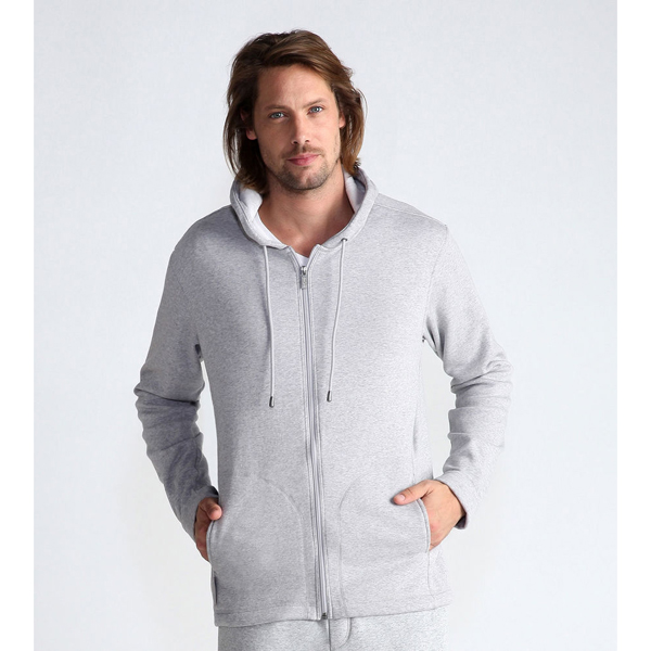 MEN'S UGG CONNELY HOODIE SEAL HEATHER ON SALE