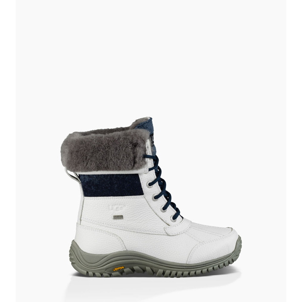 WOMEN'S UGG ADIRONDACK II WHITE ON SALE