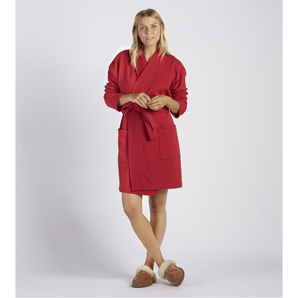 WOMEN'S UGG BRAELYN ROBE LIPSTICK RED ON SALE