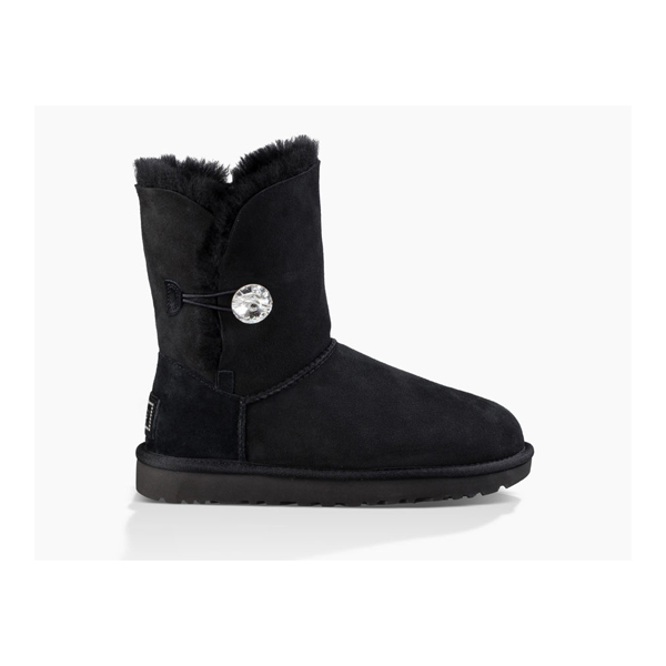 WOMEN'S UGG BAILEY BUTTON BLING BLACK ON SALE