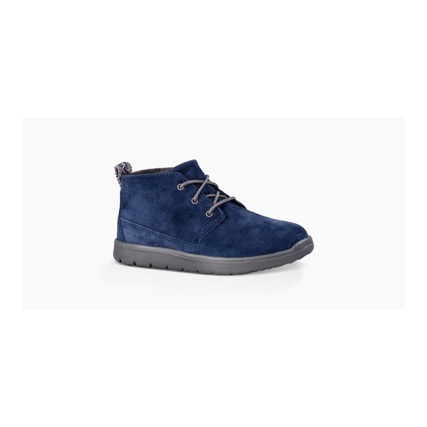 KIDS' UGG CANOE SUEDE NEW NAVY ON SALE