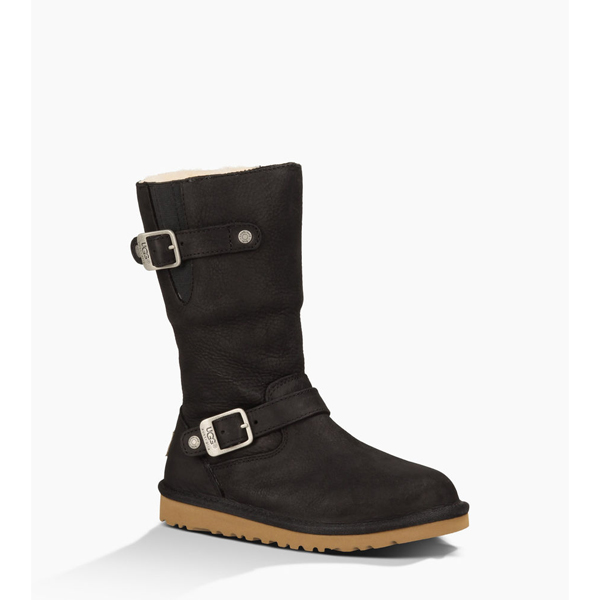 KIDS' UGG KENSINGTON BLACK ON SALE