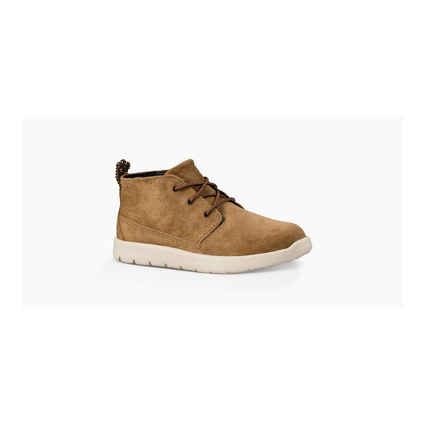 KIDS' UGG CANOE SUEDE CHESTNUT ON SALE