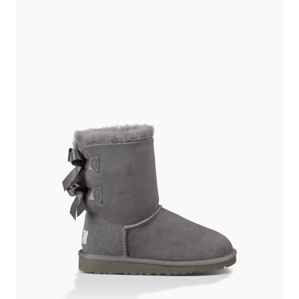 TODDLER\'S UGG BAILEY BOW GREY ON SALE