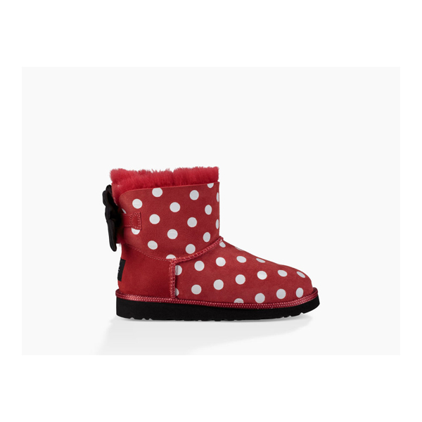 KIDS' UGG SWEETIE BOW RED ON SALE