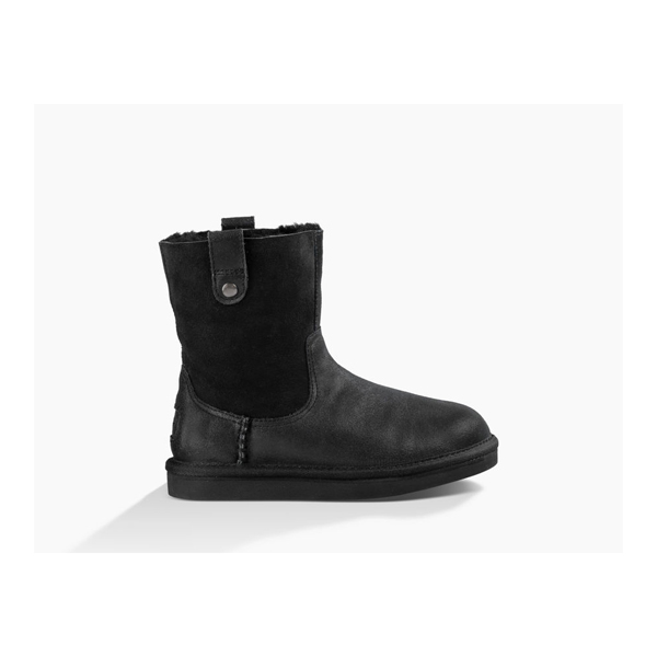KIDS' UGG HAYDEE BLACK ON SALE