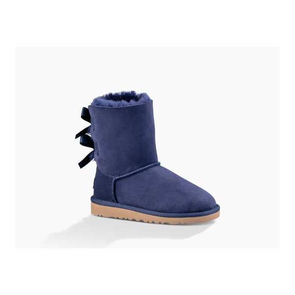 YOUTH UGG BAILEY BOW SOLID PEACOAT ON SALE