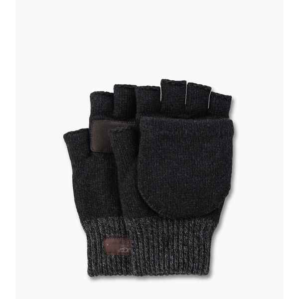 MEN\'S UGG MARLED FLIP MITTEN BLACK M ON SALE