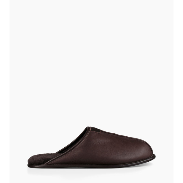 MEN'S UGG THAYNE LEATHER CHOCOLATE ON SALE