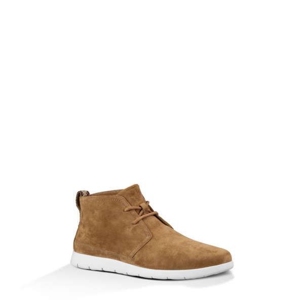 MEN'S UGG FREAMON CHESTNUT / WHITE ON SALE