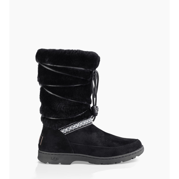 WOMEN'S UGG MAXIE BLACK ON SALE