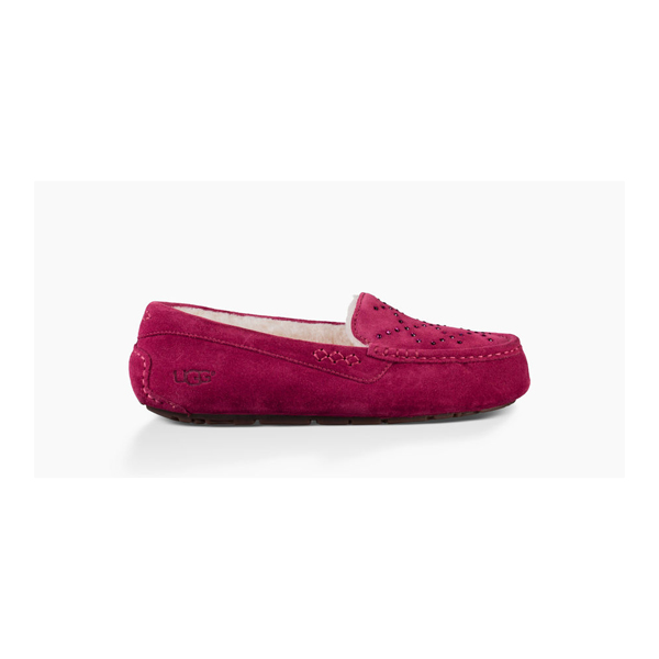 WOMEN'S UGG ANSLEY CRYSTAL DIAMOND OXBLOOD ON SALE
