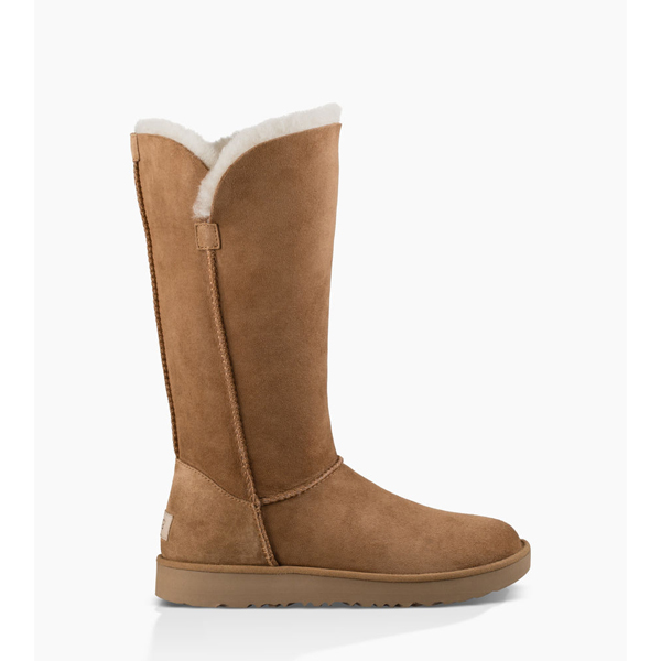 WOMEN\'S UGG CLASSIC CUFF TALL CHESTNUT ON SALE