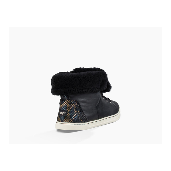 WOMEN\'S UGG CROFT EXOTIC VELVET BLACK ON SALE